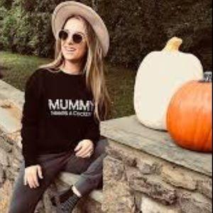 NWOT Kittenish mummy sweatshirt